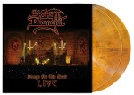 KING DIAMOND - SONGS FOR THE DEAD LIVE (2LP TRANSPARENT AMBER MARBLED VINYL)