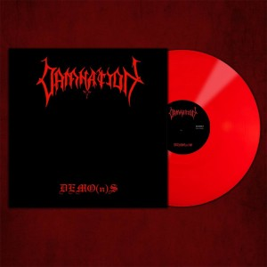 DAMNATION - DEMO(n)S (LP GATEFOLD RED VINYL LIMIT 100 COPIES)