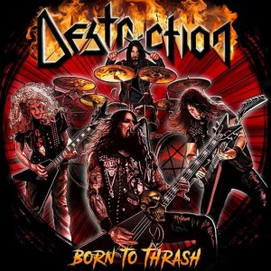 DESTRUCTION - BORN TO THRASH: LIVE IN GERMANY (2LP GATEFOLD BLACK VINYL)