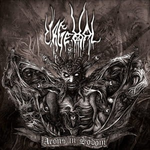 URGEHAL - AEONS IN SODOM (2LP GATEFOLD LIMIT 500 COPIES)