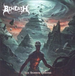 BENEATH - THE BARREN THRONE (CD)