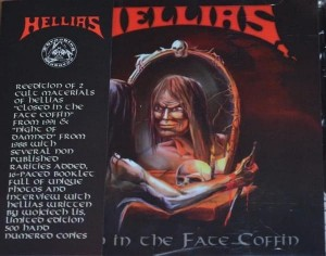 HELLIAS - CLOSED IN THE FATE COFFIN (CD LIMIT 500 COPIES)