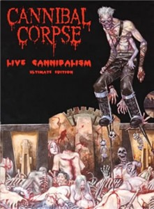 CANNIBAL CORPSE - LIVE CANNIBALISM (DVD DIGIPACK)