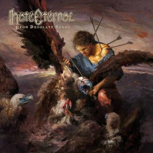 HATE ETERNAL - UPON DESOLATE SANDS (LP RED VINYL LIMIT 350 COPIES)