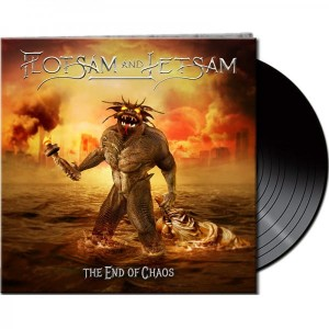 FLOTSAM AND JETSAM - THE END OF CHAOS (LP BLACK VINYL)