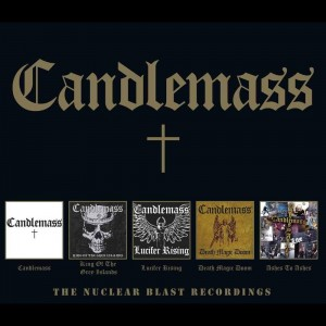 CANDLEMASS - NUCLEAR BLAST RECORDINGS (5CD)