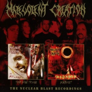 MALEVOLENT CREATION - WILL TO KILL / WARCULT (2CD)