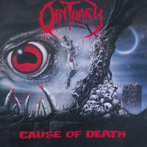 OBITUARY - CAUSE OF DEATH (CD DIGIPACK)