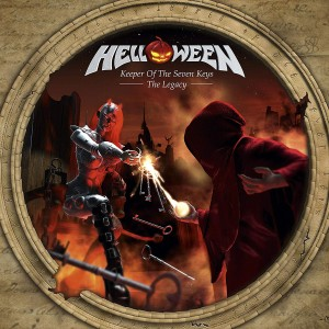 HELLOWEEN - KEEPER OF THE SEVEN KEYS-THE LEGACY (2LP GATEFOLD CLEAR VINYL)