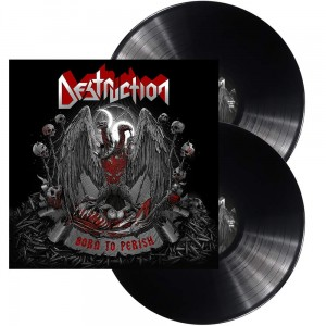 DESTRUCTION - BORN TO PERISH (2LP GATEFOLD BLACK VINYL)