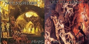 NECROPHOBIC - FEARS / WHEN YOU DIE (CD)