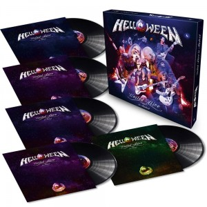 HELLOWEEN - UNITED ALIVE (VINYL BOX LIMITED)