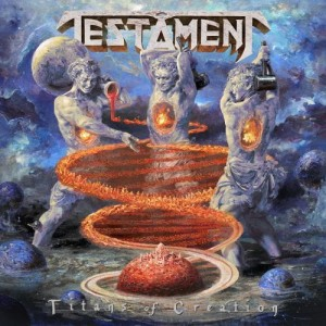 TESTAMENT - TITANS OF CREATION (CD)