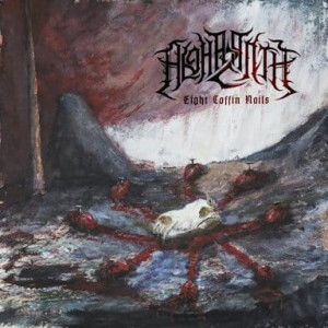 ALGHAZANTH - EIGHT COFFIN NAILS (2LP GATEFOLD BLACK VINYL)