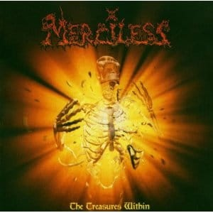 MERCILESS - THE TREASURES WITHIN (LP GATEFOLD YELLOW VINYL, LIMIT 250 COPIES)