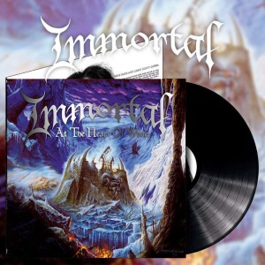 IMMORTAL - AT THE HEART OF WINTER (LP 180g GATEFOLD BLACK VINYL LIMIT 400 COPIES)