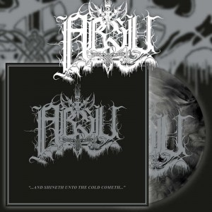ABSU - AND SHINETH UNTO THE COLD COMETH (LP SILVER / BLACK MARBLE VINYL LIMIT 300 COPIES)