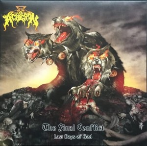 ACHERON - THE FINAL CONFLICT: LAST DAYS OF GOD (LP BLACK VINYL)