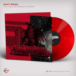 KULT MOGIŁ - TORN AWAY THE REMAINS OF DASEIN (LP GATEFOLD RED VINYL LIMIT 100 COPIES)