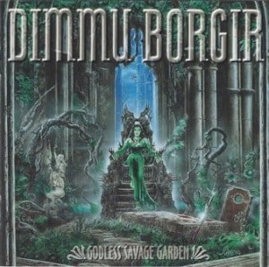 DIMMU BORGIR - GODLESS SAVAGE GARDEN (LP+CD GATEFOLD BLACK VINYL)