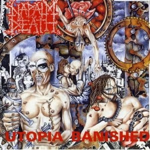 NAPALM DEATH - UTOPIA BANISHED (CD)