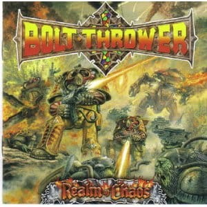 BOLT THROWER - REALM OF CHAOS (CD DIGIPACK)