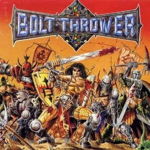 BOLT THROWER - WAR MASTER (LP GATEFOLD LIMIT 500 COPIES)