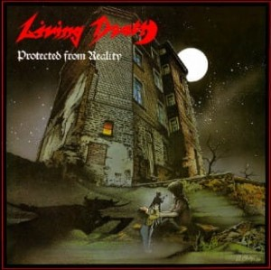 LIVING DEATH - PROTECTED FROM REALITY / BACK TO THE WEAPONS (CD)