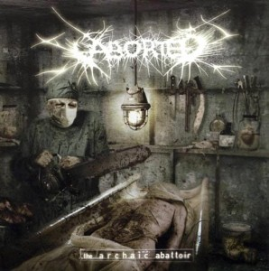 ABORTED - THE ARCHAIC ABATTOIR (CD DIGIPACK)