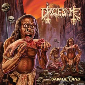 GRUESOME - SAVAGE LAND (CD)
