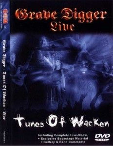 GRAVE DIGGER - TUNES OF WACKEN (DVD)