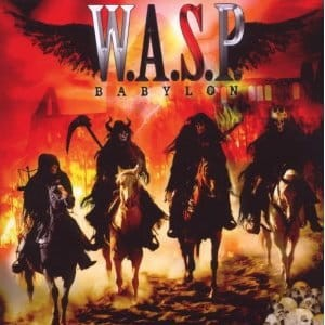 W.A.S.P. (WASP) - BABYLON (CD)
