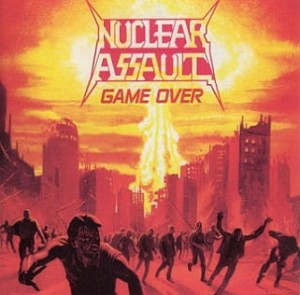 NUCLEAR ASSAULT - GAME OVER / THE PLAGUE (CD)