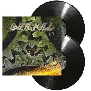 OVERKILL - THE GRINDING WHEEL (2LP GATEFOLD)