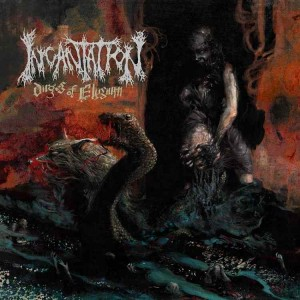 INCANTATION - DIRGES OF ELYSIUM (LP BLACK VINYL LIMIT 300 COPIES)