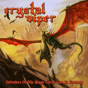 CRYSTAL VIPER - DEFENDERS OF THE MAGIC CIRCLE: LIVE IN GERMANY (CD)