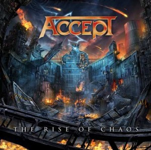 ACCEPT - THE RISE OF CHAOS (CD)
