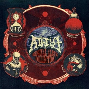 ATHEIST - ORIGINAL ALBUM COLLECTION (4CD BOX)