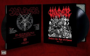 VADER - BEFORE THE AGE OF CHAOS LIVE 2015 (LP GATEFOLD)