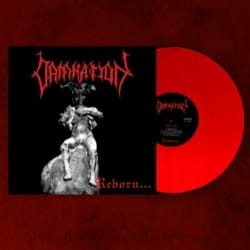 DAMNATION - REBORN (LP GATEFOLD RED VINYL LIMIT 100 COPIES)